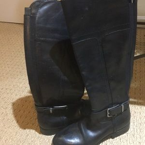 Black Marc Fisher boots